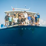 Photo taken by Arushad Mohamed from Island Divers