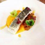 Plat - purée de carottes, poisson