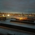 View of East River and Manhattan from the king room on 5th floor