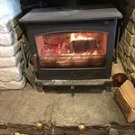 The log fire