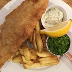 Fantastic fish & Chips, best ever !