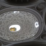 Oval dome from S. Carlo alle Quattro Fontane designed by Francesco Borromini