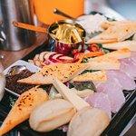 The platter - mmm yummy!