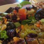 Olivit Salad with Chicken (underneath the Chicken)