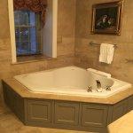 Big bathtub.