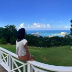 Beautiful View of Ochos Rios from higher up!