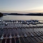 Beverly's view of the harbor and lake - Coeur d'Alene, ID