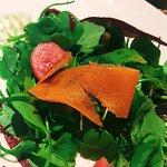 warm winter vegetable salad Aran Island Goat Cheese