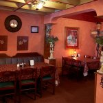 Our semi-private alcove... can accommodate 25 for a small party or get-together.