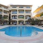 Playa Azul's pool.
