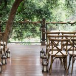 Our Calistoga Ranch deck wedding ceremony
