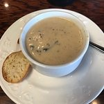 Mushroom soup SO GOOD!!!!