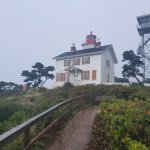 Yaquina Bay Lighthouse Foto
