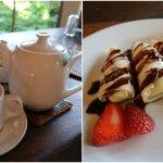 Tea time- complimentary tea and dessert