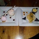 Strawberry cheesecake/ Apple crumble