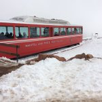 Pikes peak cog train.  I would recommend this