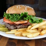 Bison Burger? YES PLEASE!