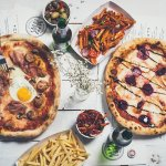 Neapolitan Pizza Number 4 & Number 5 with Chilli Chips