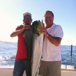 Dorado caught with Pisces Fishing in Cabo San Lucas