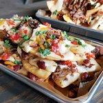 Pot roast nachos