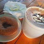 Donut y moka