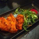 Chicken Tikka Pieces, a starter.