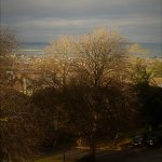 Hotel Grounds and Dun Laoghaire beyond