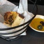 Delicious bread at Figs, Boston