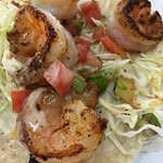 Prawn taco