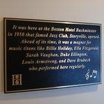 Storyville historical marker