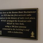 Broadcast historical marker