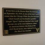 White Sox historical marker
