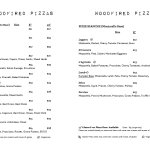 Lunch - Woodfired Pizzas