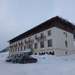Le Grand hôtel à notre arrivée