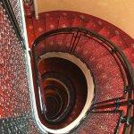 Vue de l'escalier du 6ème étage! From the 6th floor