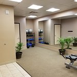 one side of exercise room