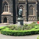 Statue of Archbishop (?) Mannix