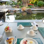 Breakfast is served everyday at Mimosa Restaurant