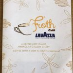 Welcome to Froth Café - coffee with the most extraordinary view!