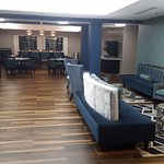 Beautifully decorated and designed lobby and dining area