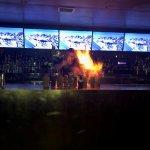 Merkeba fire show!