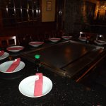 "A Hibachi (""fire bowl"") table"