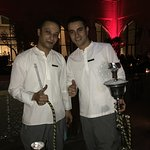 Shawki and Sufi, awesome shishemen!