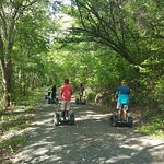 Segway-ing along the trails of Mt. Pimard