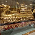 Dragon boat model