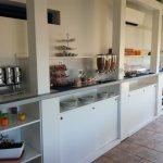 Buffet colazione zona dolce e yoghurt