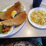 Crunchy Grouper Plate