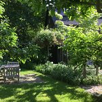 The Marston House B&B beautiful garden for our guests
