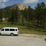 View of crazy horse