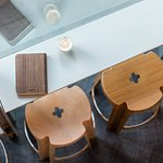 Cafe is a live experiential space for visitors to enjoy good design